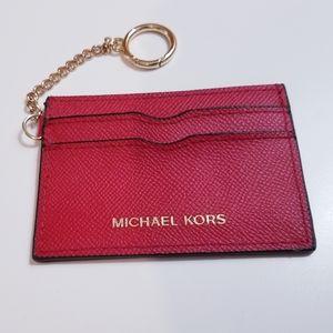 MICHAEL KORS red card holder